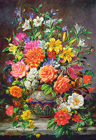 Blumen Stillleben in einer Vase