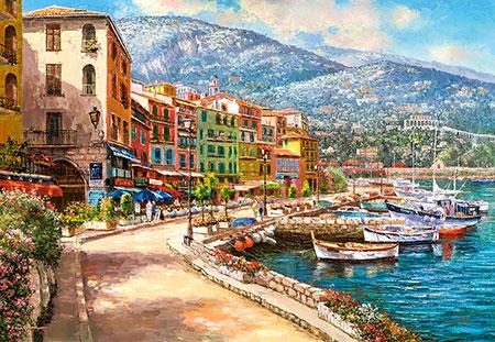 Entlang der Französischen Riviera