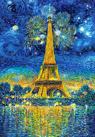 Silvester am Eiffelturm