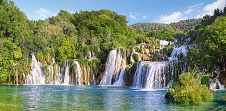 Krka Wasserfälle, Kroatien