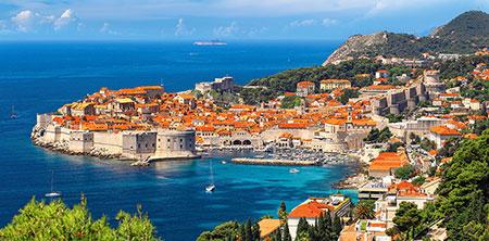 Küstenstadt Dubrovnik