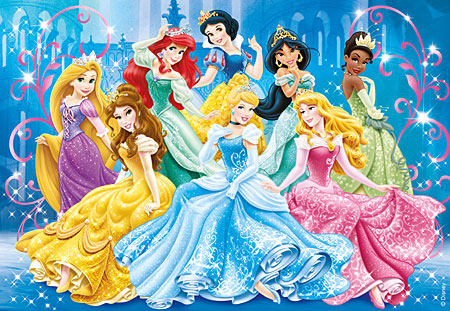 Clementoni 20128 Disney Prinzessinnen Zauberhafte