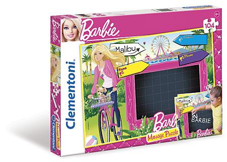 Barbie Tafelpuzzle Love Message