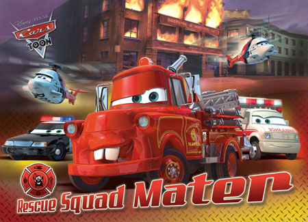 Cars - Rescue Squad Mater