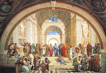 Raffaello: Die Schule von Athen