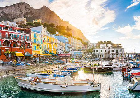 Sonnenutergang in Capri