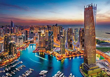 Yachthafen von Dubai