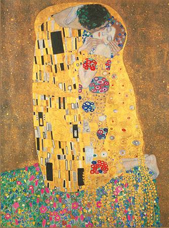 Der Kuss, Klimt
