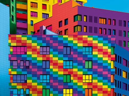 Farbexplosion Quadrate