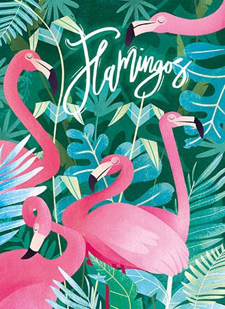Fantastische Tierwelt - Flamingos