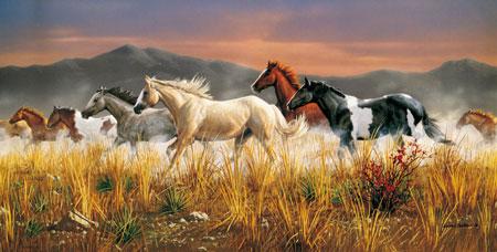 Herde  Clementoni 38006 Pferde Herde