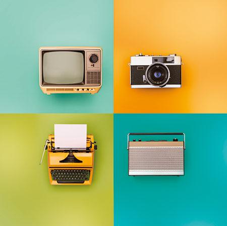 Alte analoge Elektronik