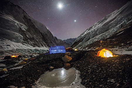 Puzzle National Geographic - Camp auf dem Mount Everest
