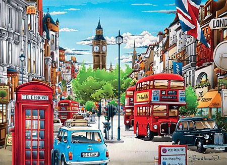 Londoner Stadtansichten