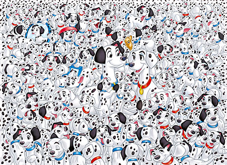 Das unmögliche Puzzle - 101 Dalmatiner