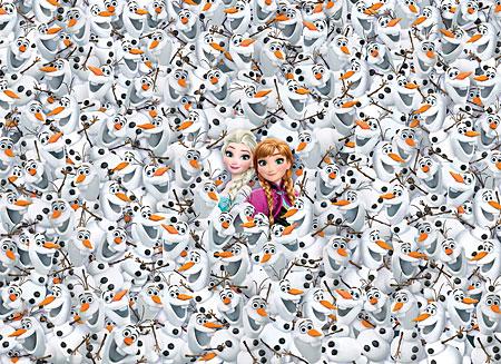 Das unmögliche Puzzle - Die Eiskönigin