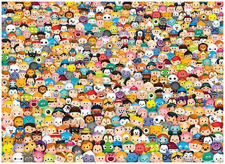 Das unmögliche Puzzle - Tsum Tsum