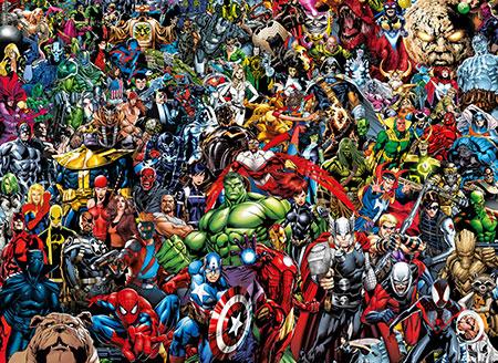 Das unmögliche Puzzle - Marvel Universum