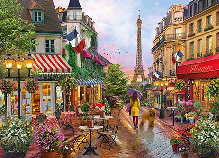 Blumen in Paris
