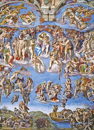Michelangelo - Das jüngste Gericht