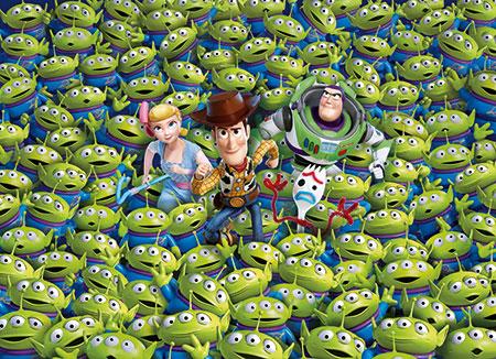 Das unmögliche Puzzle - Toy Story 4