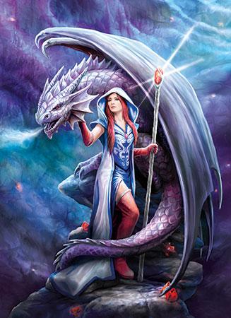 Anne Stokes - Im Bann des Drachen