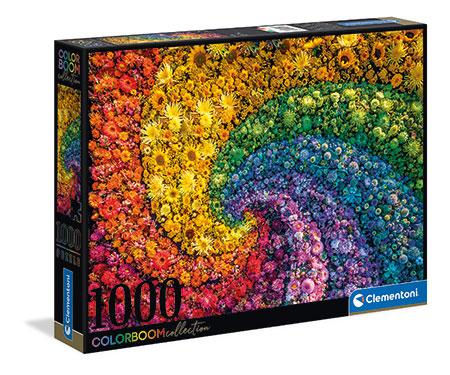 Farbexplosion - Wirbel