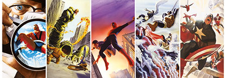 Marvel Helden Classic Panorama