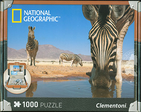 National Geographic - Zebras an der Wasserstelle