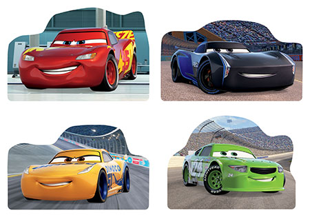 Disney Cars 3 - Alte Rivalen