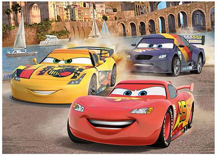 Disney Cars - Kopf an Kopf