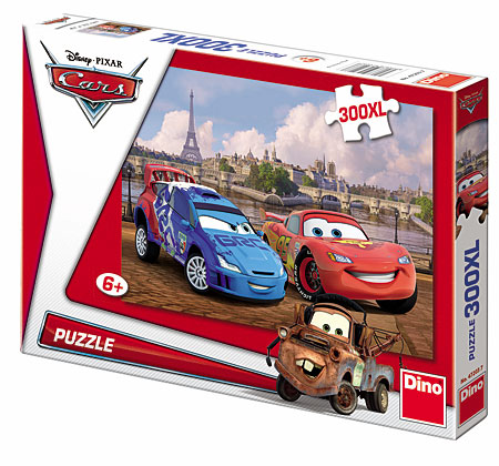 Puzzle Disney Cars in Paris