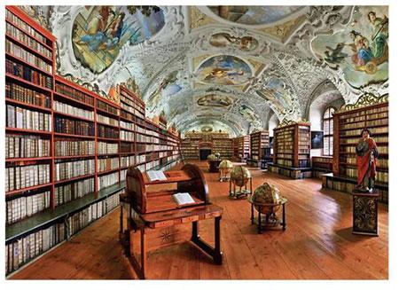 Theologiehalle von Kloster Strahov