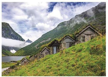 Hütten in Norangsdalen