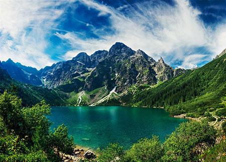 Meeraugen Bergsee