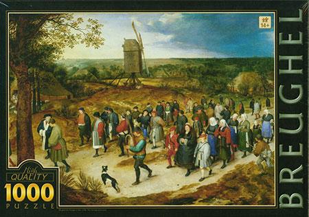 Hochzeitsprozession, Brueghel