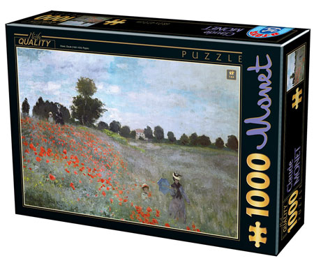 Klatschmohn in der Gegend von Argenteuil, Monet