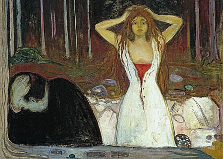 Asche, Munch