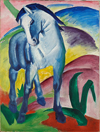 Blaues Pferd, Marc