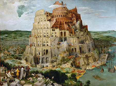 Großer Turmbau zu Babel, Bruegel