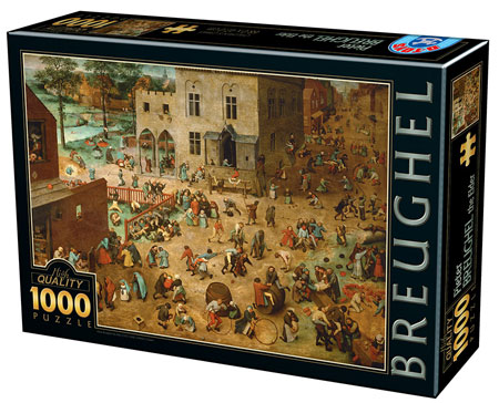 Die Kinderspiele, Pieter Bruegel der Ältere