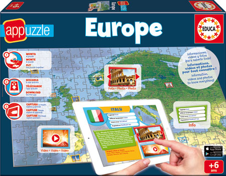 App-Puzzle Europa