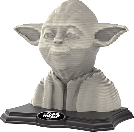 3D Skulptur Puzzle   Meister Yoda