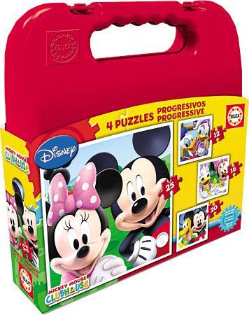 Puzzlekoffer - Mickey Maus