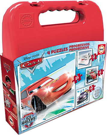 Puzzlekoffer - Disney Cars - Ice Racers