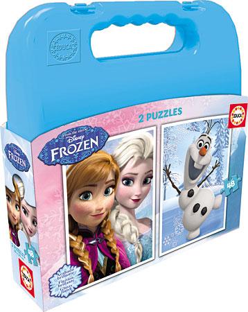 Puzzlekoffer - Die Eiskönigin