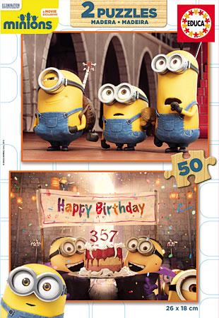 Educa 16527 Minions Alles Gute Zum Geburtstag