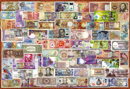 Geldscheine der Welt