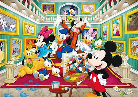 micky-kunstgalerie, 9.99 EUR @ puzzle