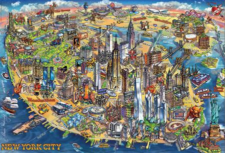 stadtkarte-von-new-york-city